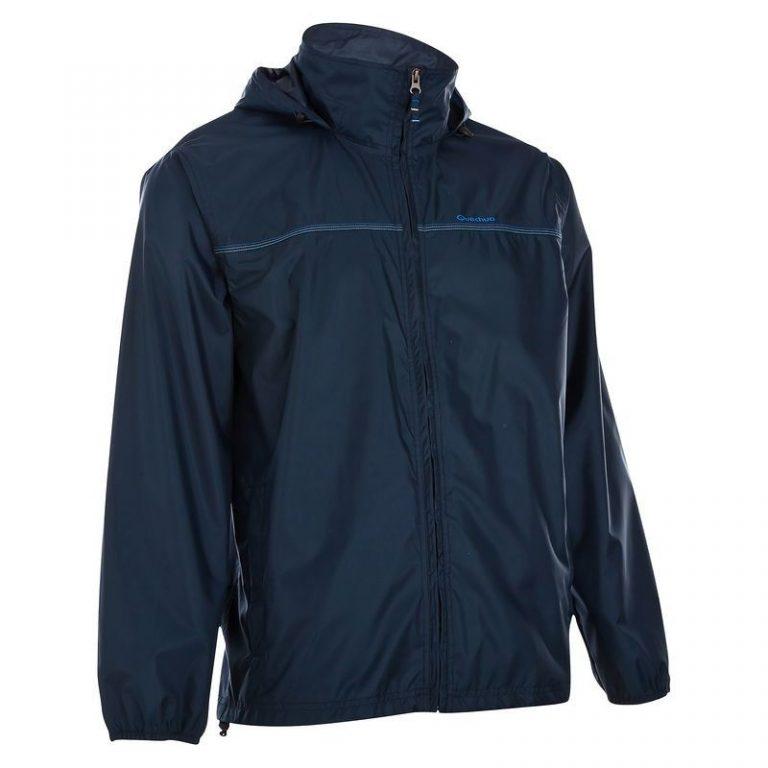 [:ro]Geacă de ploaie quechua bleumarin[:en]Quechua Dark Blue Rain coat[:]