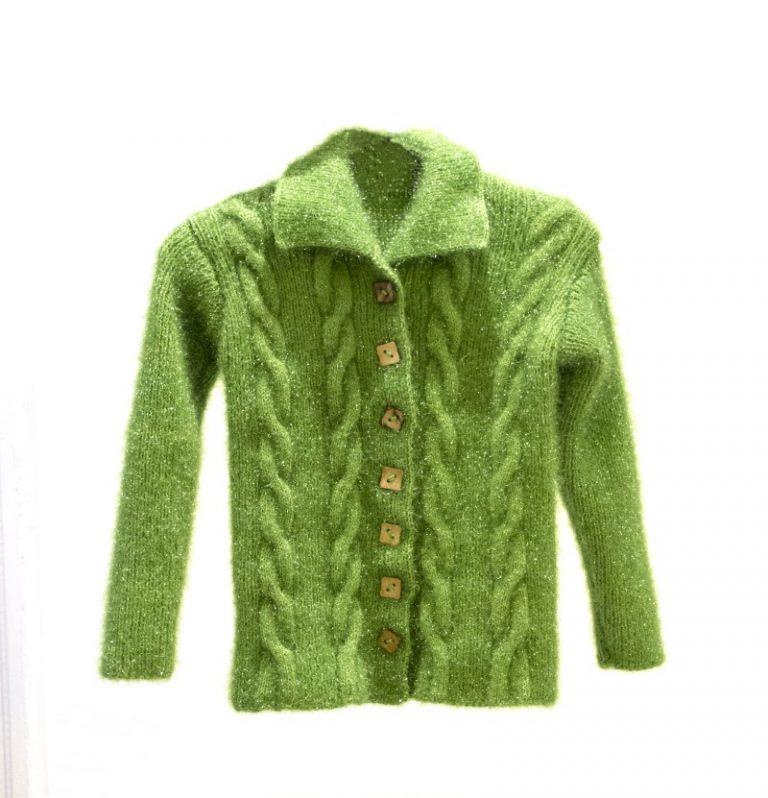 [:ro]Pulover Verde Copii[:en]Green Sweater for childern[:]