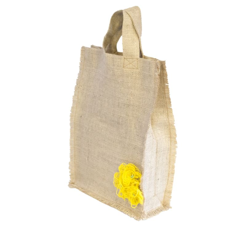 [:ro]Sacoșă Iută Natur 30×40 cu aplicatii[:en]Natural Jute Bag with applications 30×40 [:]
